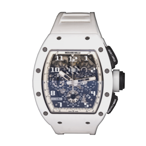 Richard Mille RM11 White Ghost