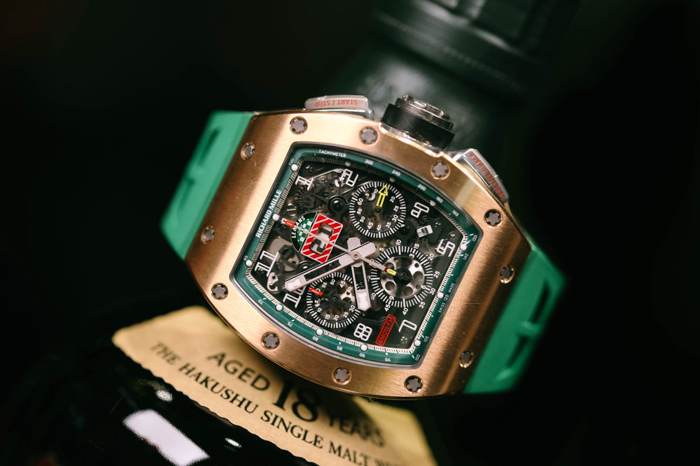 "RICHARD MILLE Chronograph ""Lemans"" Rose Gold Limited Edition"